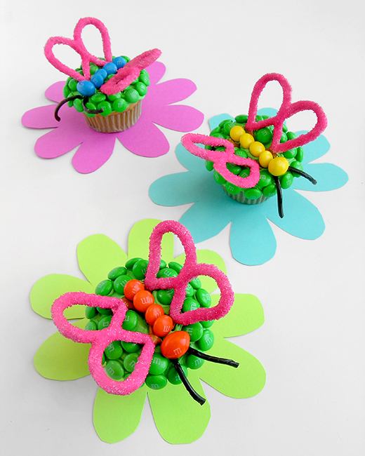Fluttering Cupcakes