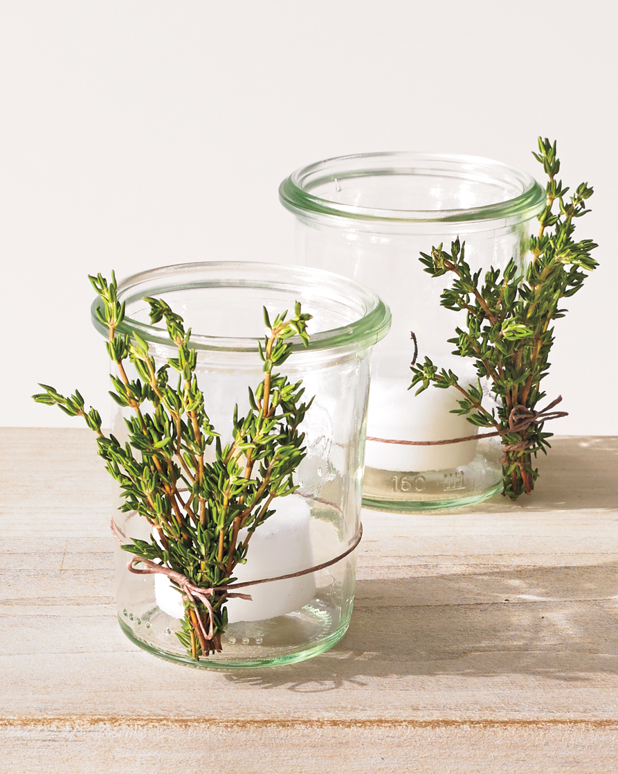 Light Herb Votives
