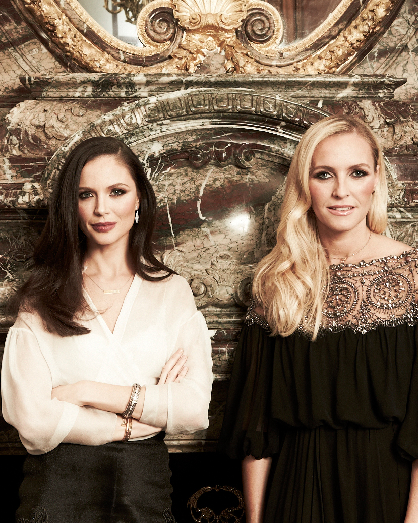 Georgina Chapman and Keren Craig of Marchesa