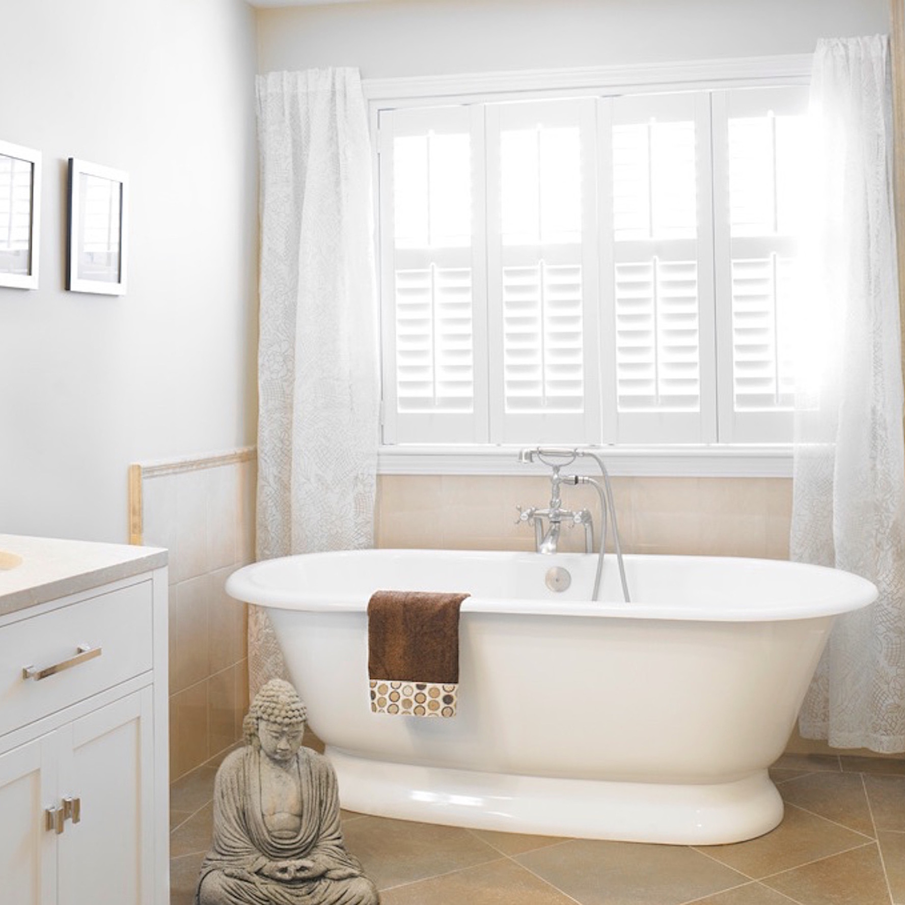 Bathroom Window Treatments We Love  Martha Stewart