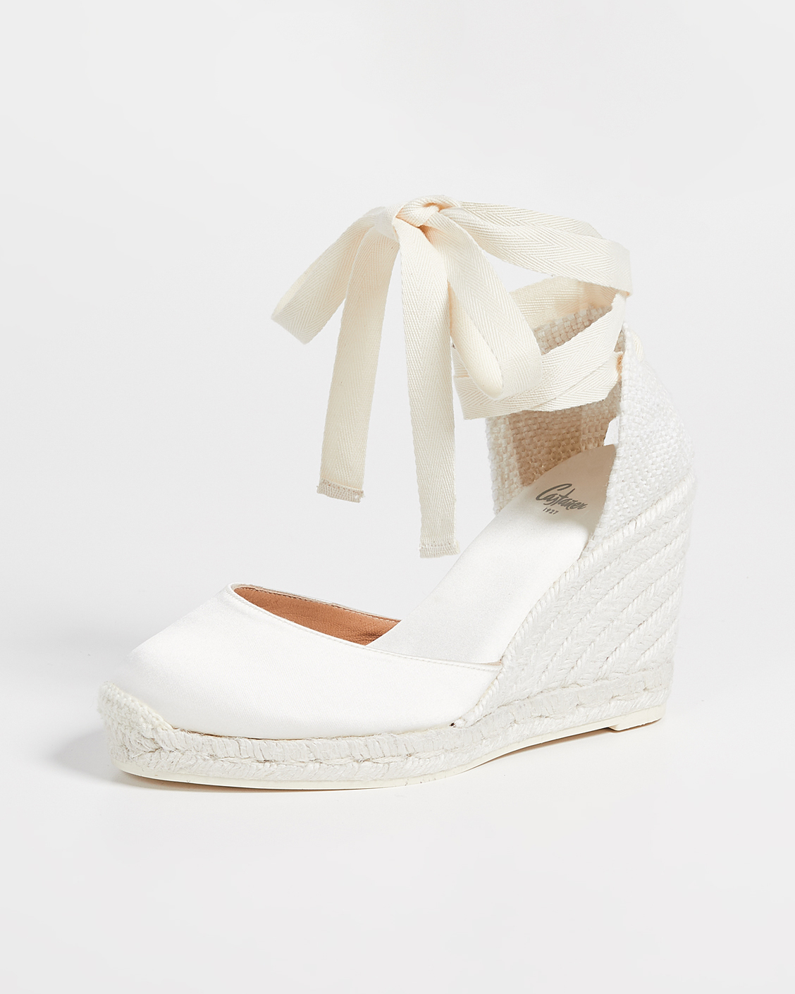 outdoor wedding shoes white wedges