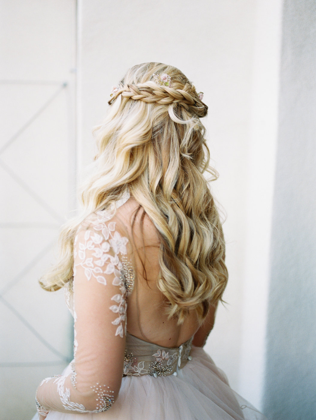 long wedding hair