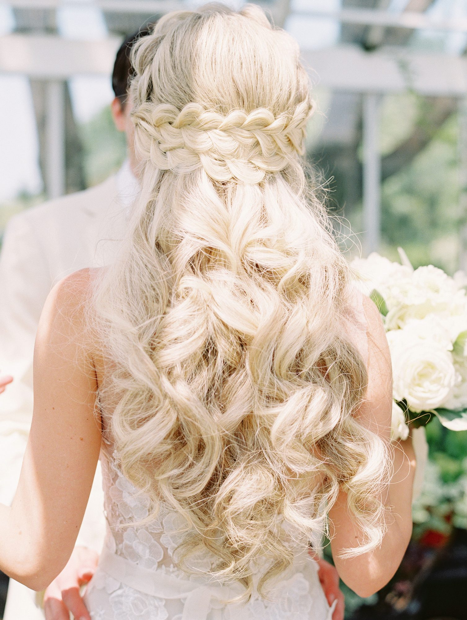 stephanie philip wedding braid
