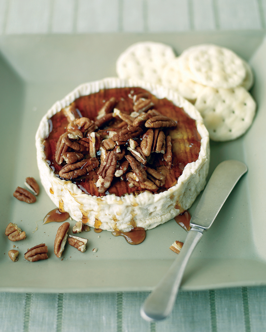 Simple: Baked Brie with Pecans