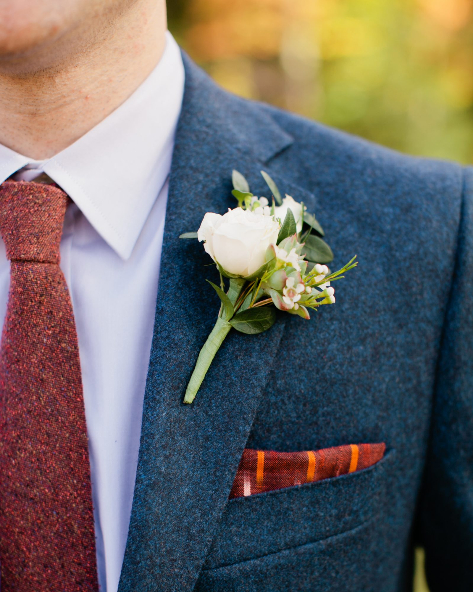 The Groom's Boutonniere