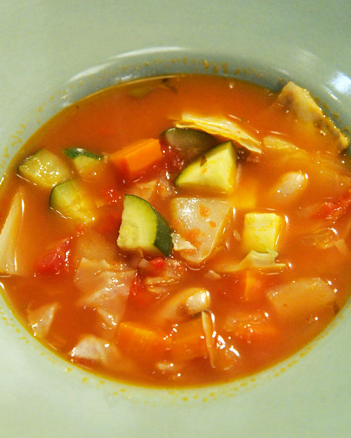 Rustic Vegetable Soup