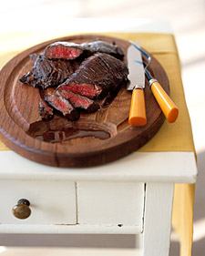 Balsamic-Marinated Skirt Steak