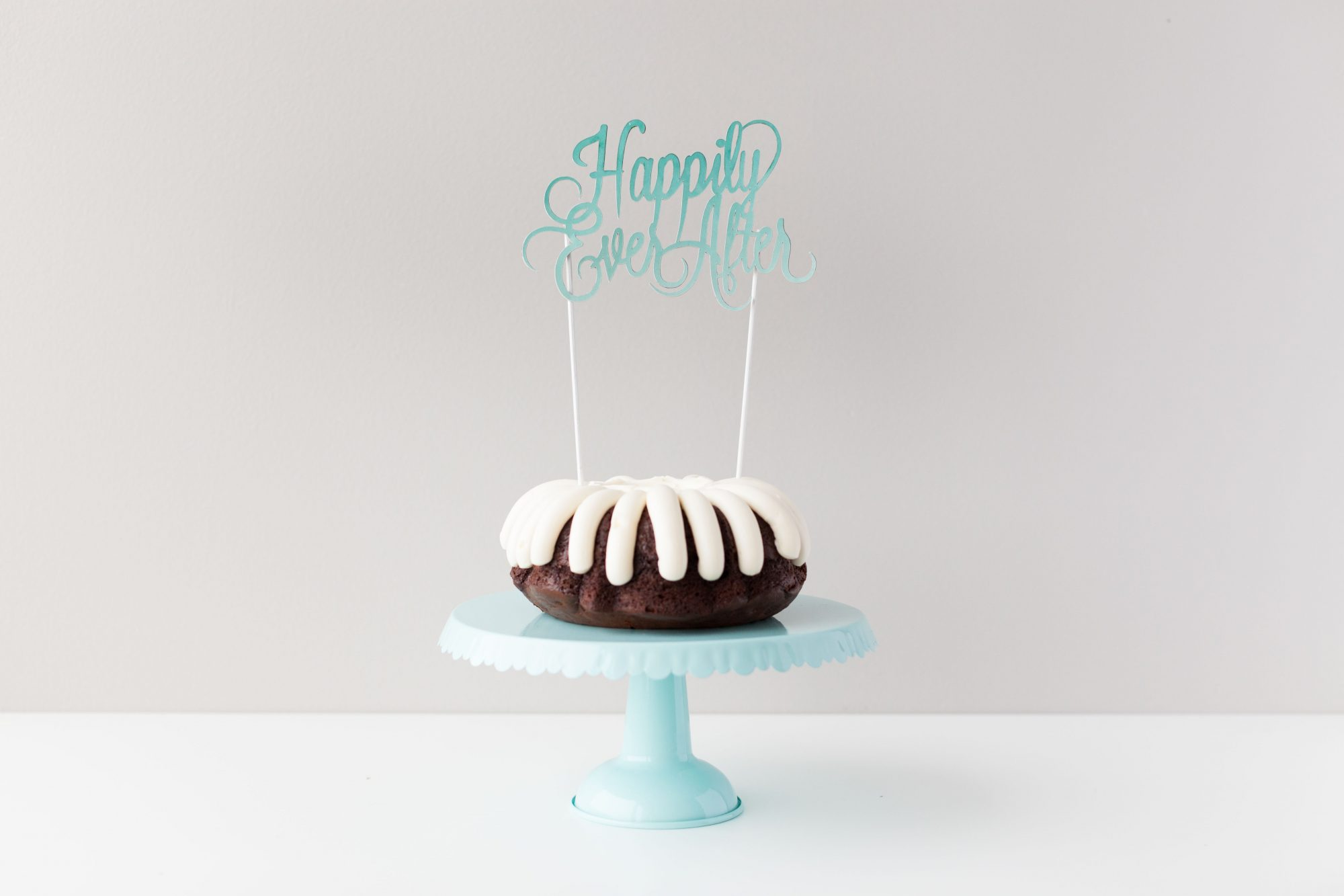 "DIY ""happily ever after"" cake topper"