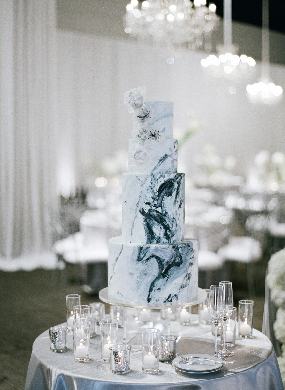 winter wedding cakes kevin chin