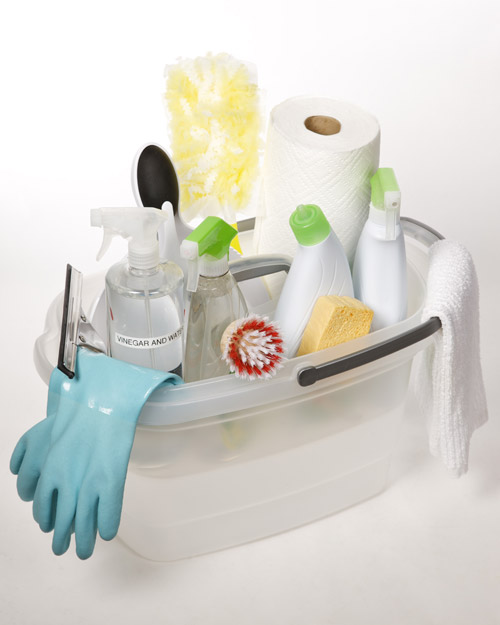 Create a Consolidated Cleaning Caddy