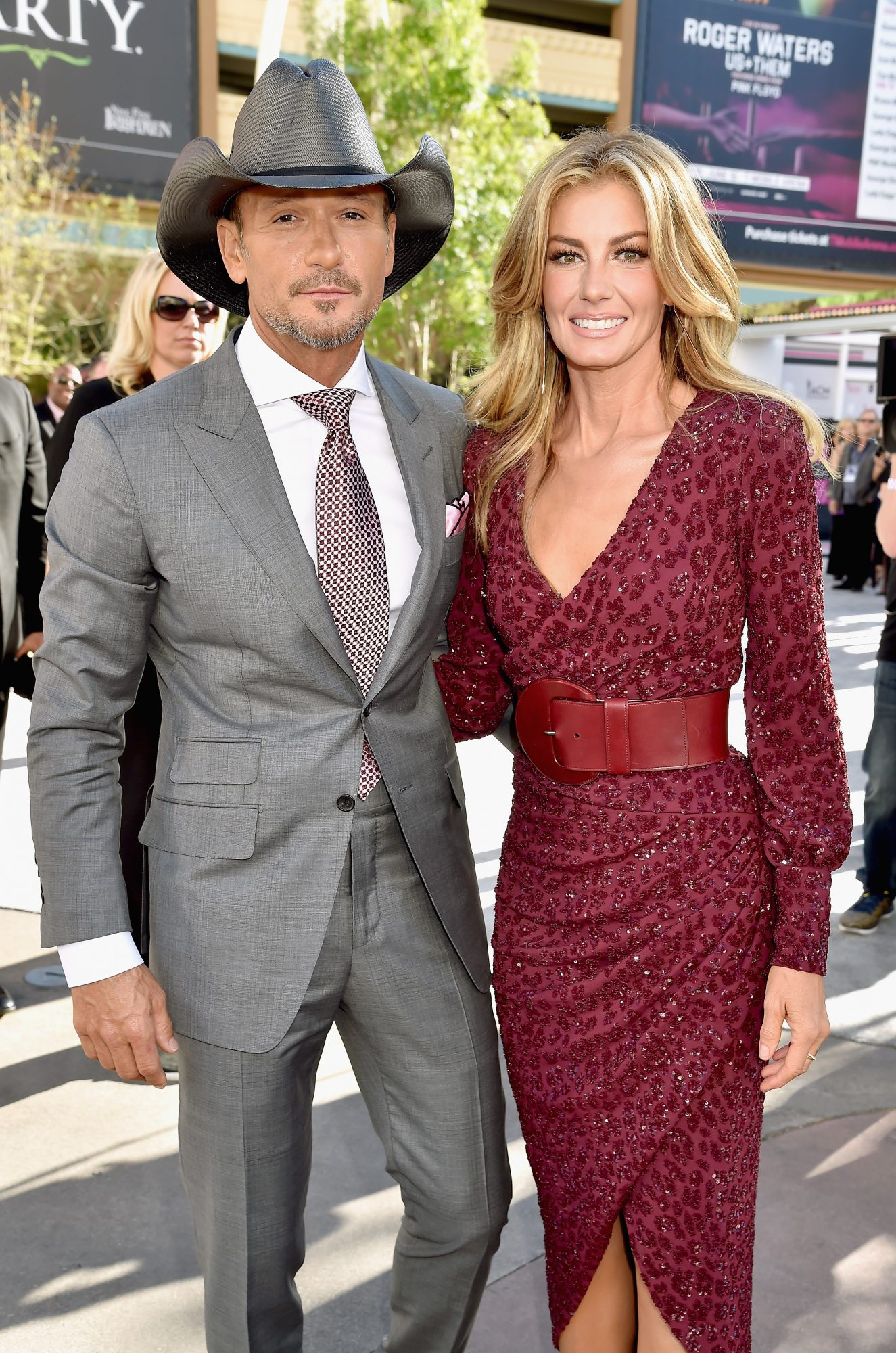 Faith Hill and Tim McGraw at Academy of Country Music Awards 2017
