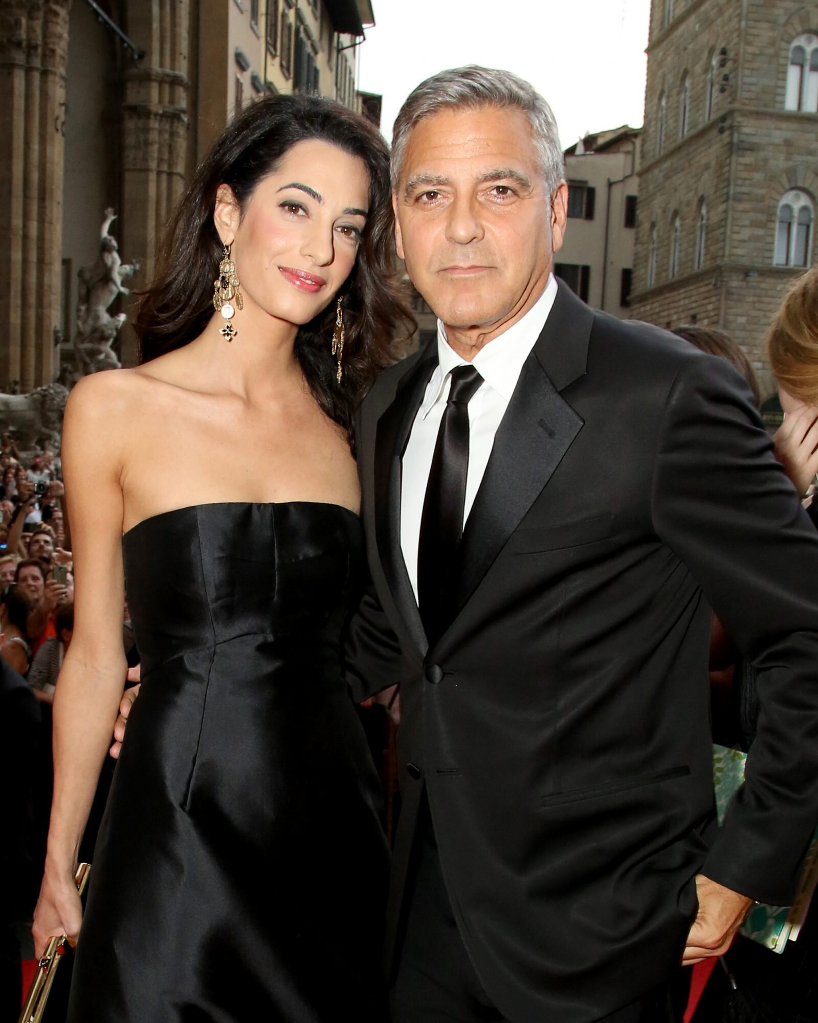 George Clooney Can T Get Over How Much His Daughter Looks Like Wife Amal Martha Stewart