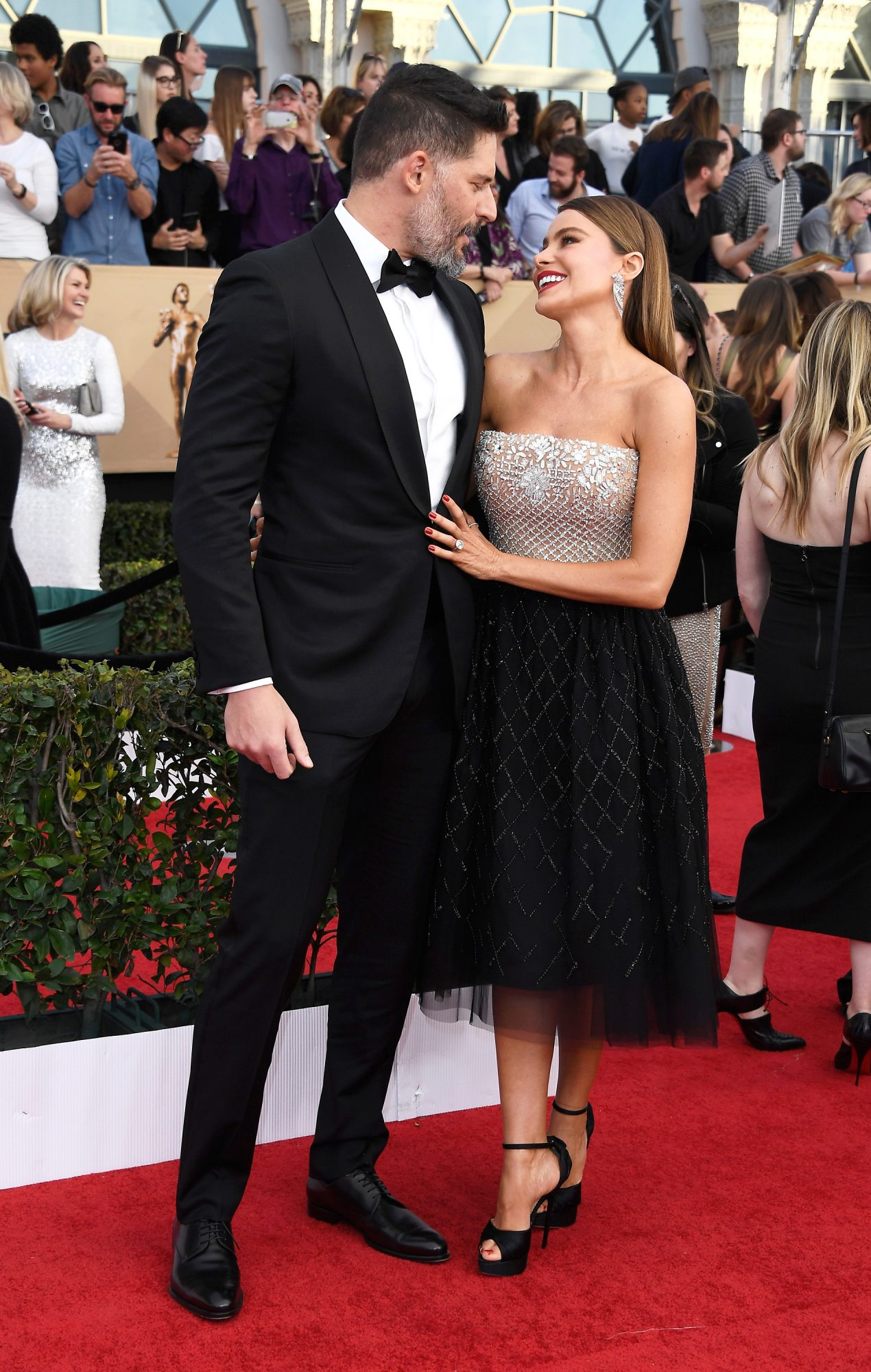 Joe Manganiello and Sofia Vergara Sag Awards 2017