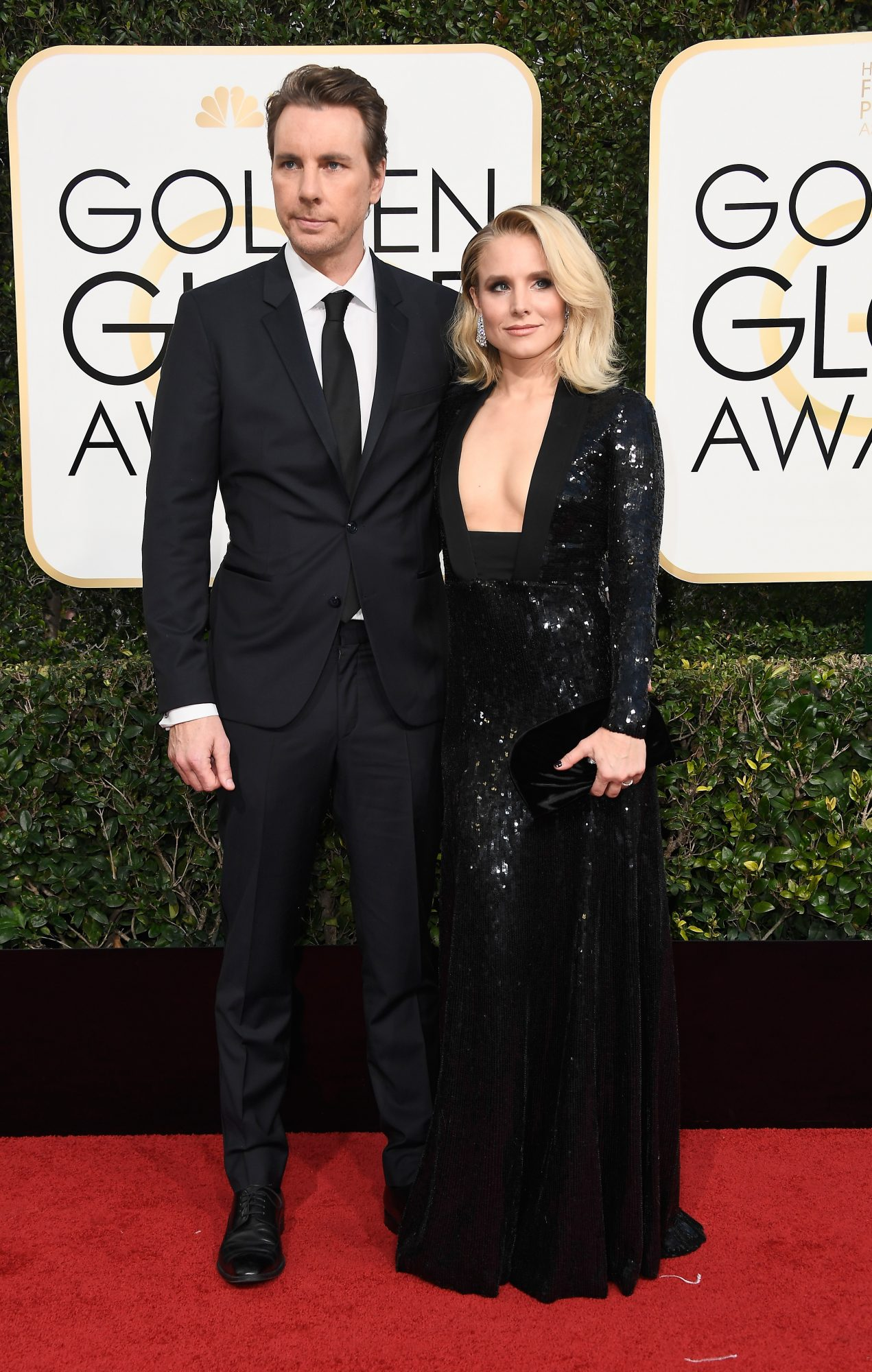 Kristen Bell and Dax Shepard Golden Globes 2017