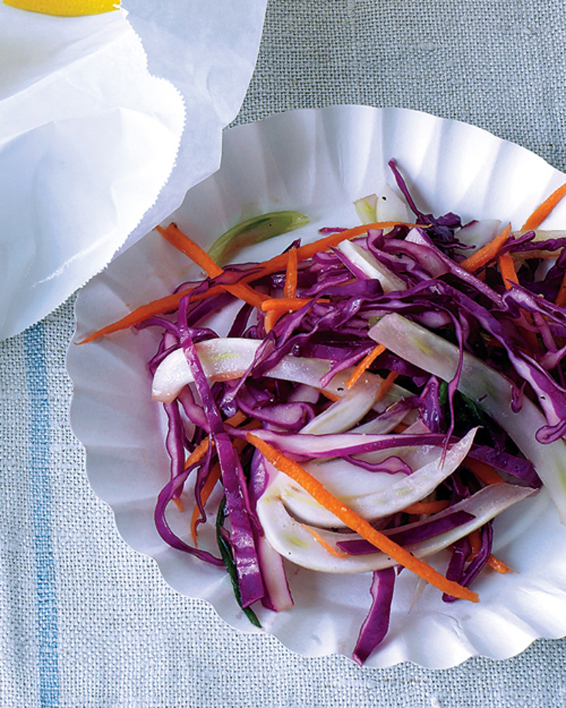 (Red) Cabbage and Fennel Slaw