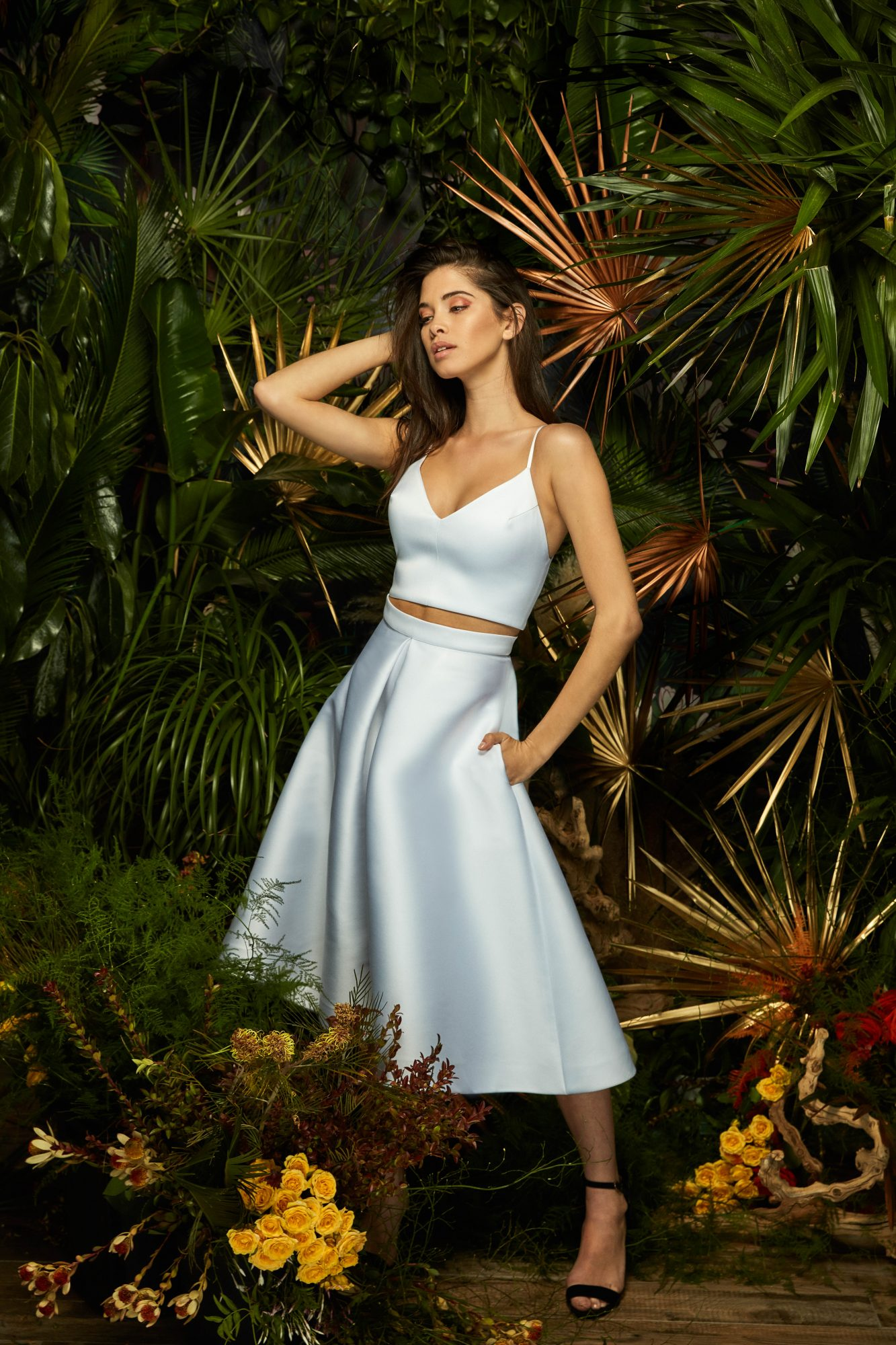 lakum wedding dress spring 2019 separates tank