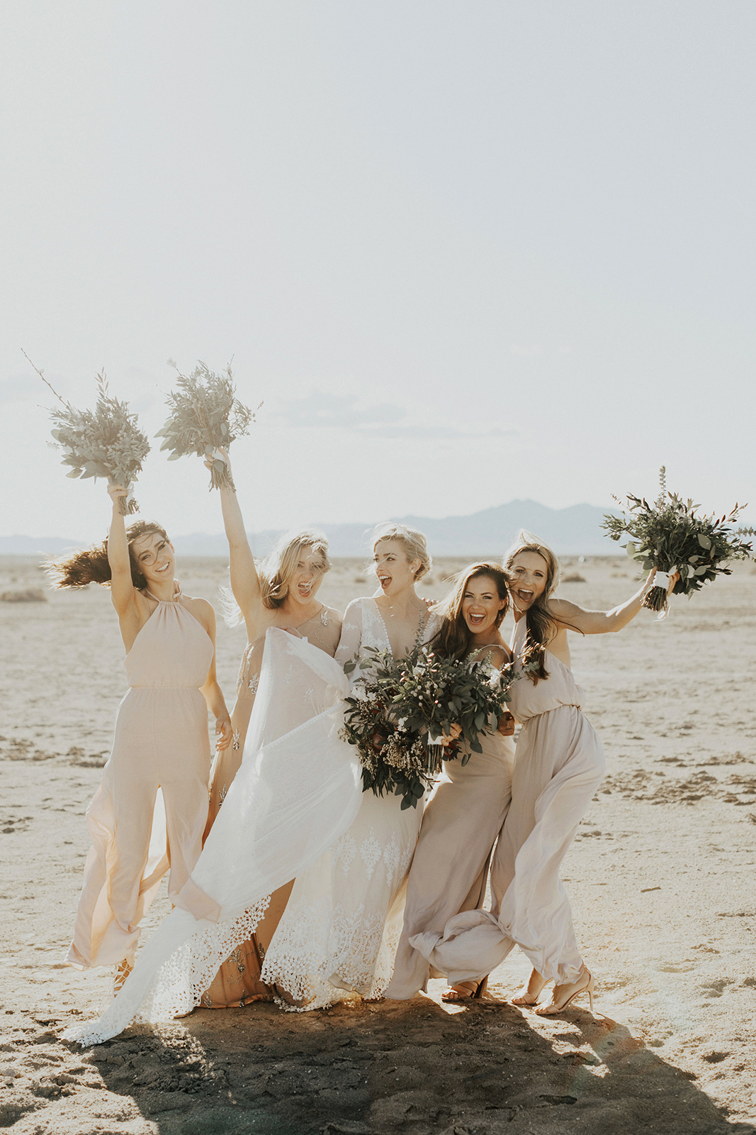 mismatched bridesmaids dresses india earl