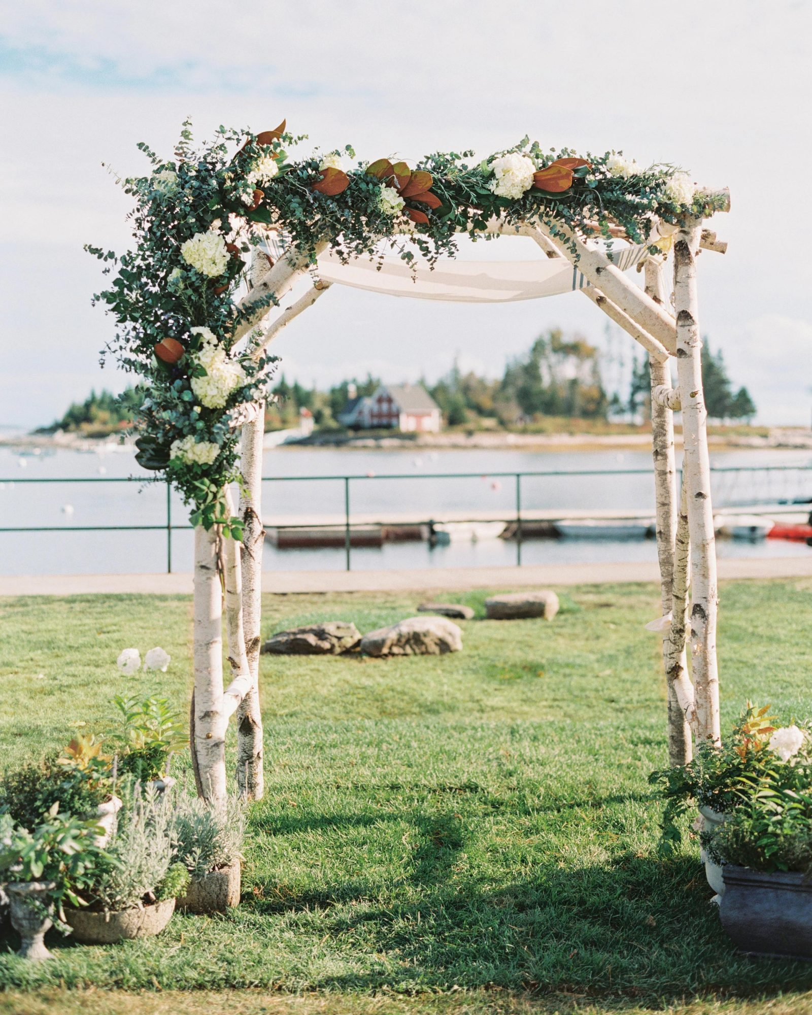 An Adorned Ceremony Structure