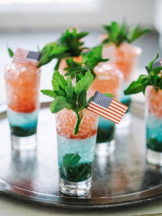 Fourth of July cocktails