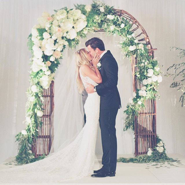 Lauren Conrad and William Tell's wedding photo