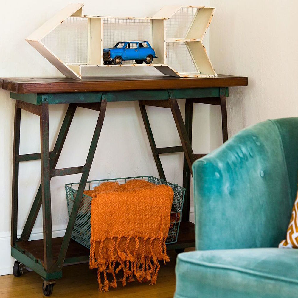 side table with antique