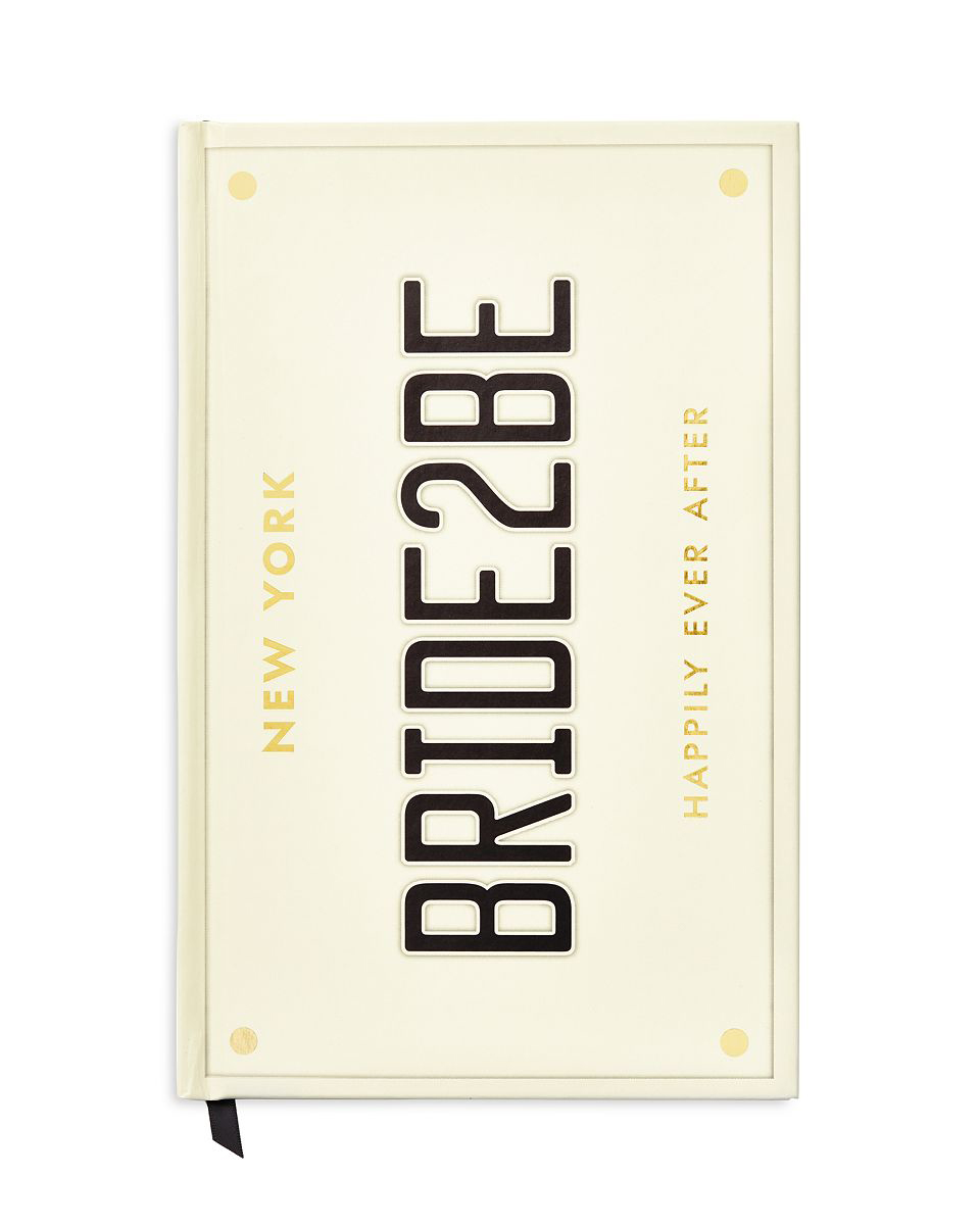 vow book bride to be journal black gold letters