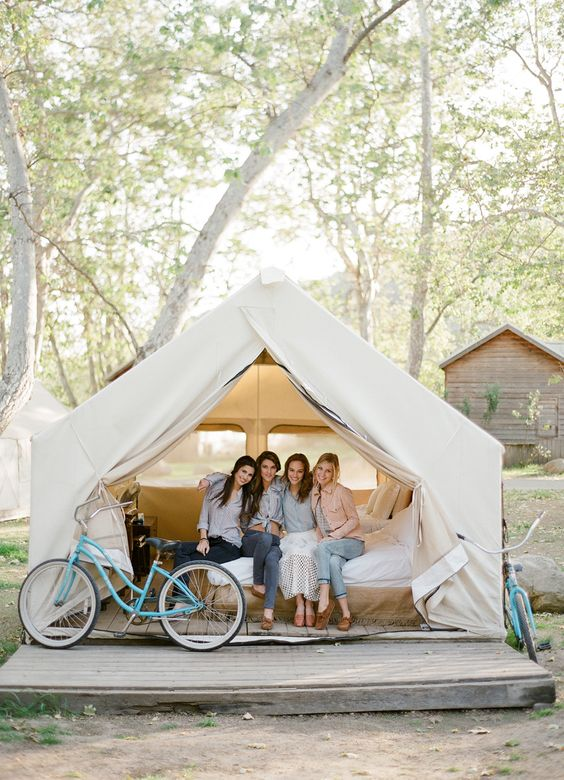 Glamping Bridal Shower