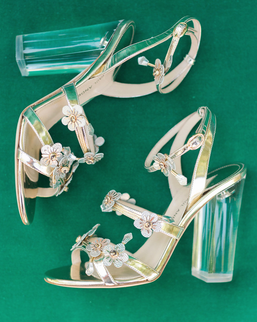 emily adhir wedding heels