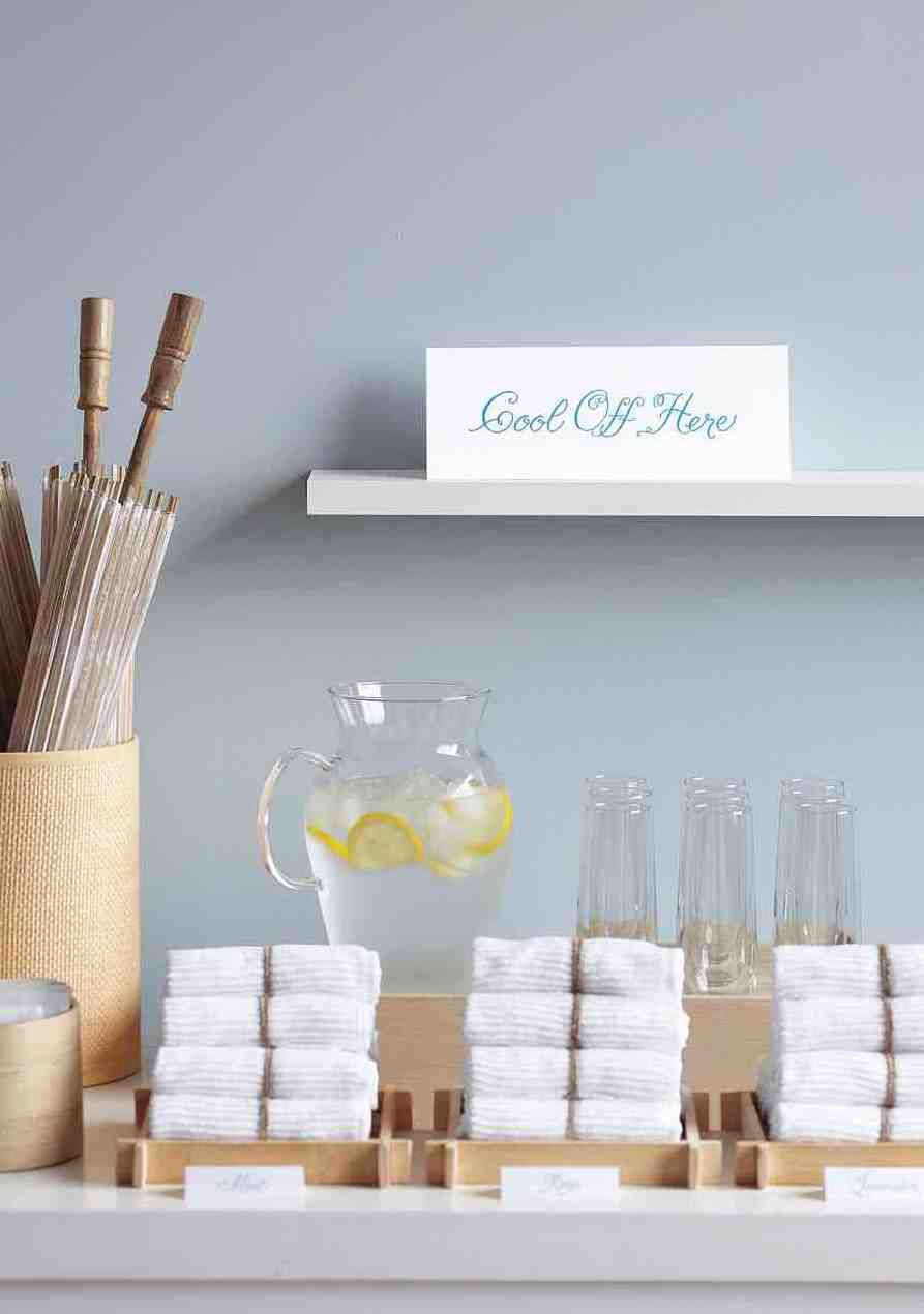Ways to Stay Cool on Wedding Day