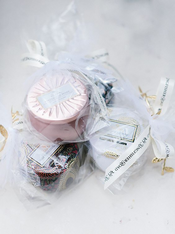 Scented Candles bachelorette party favors