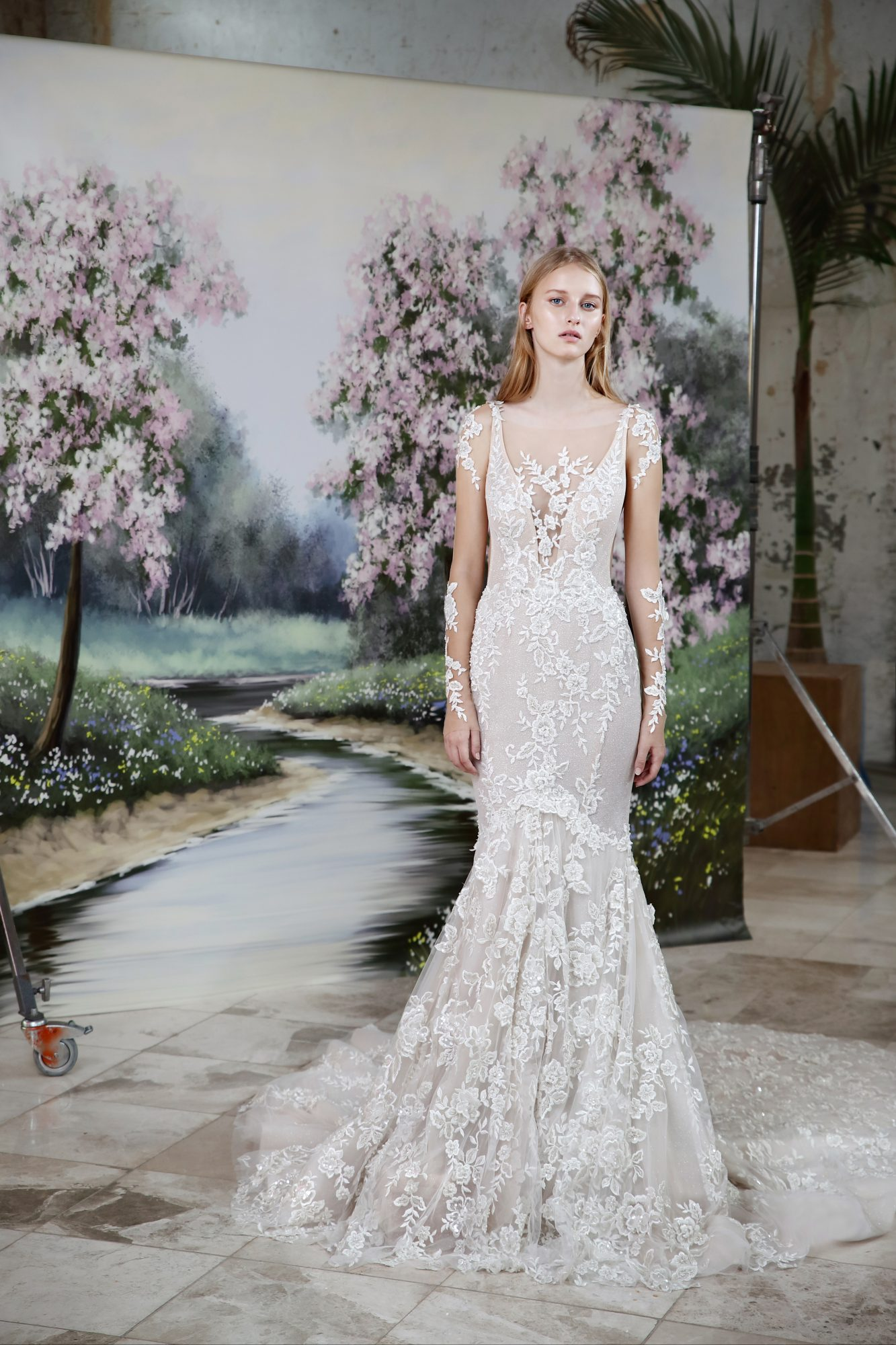 Wedding dress from Fall 2019