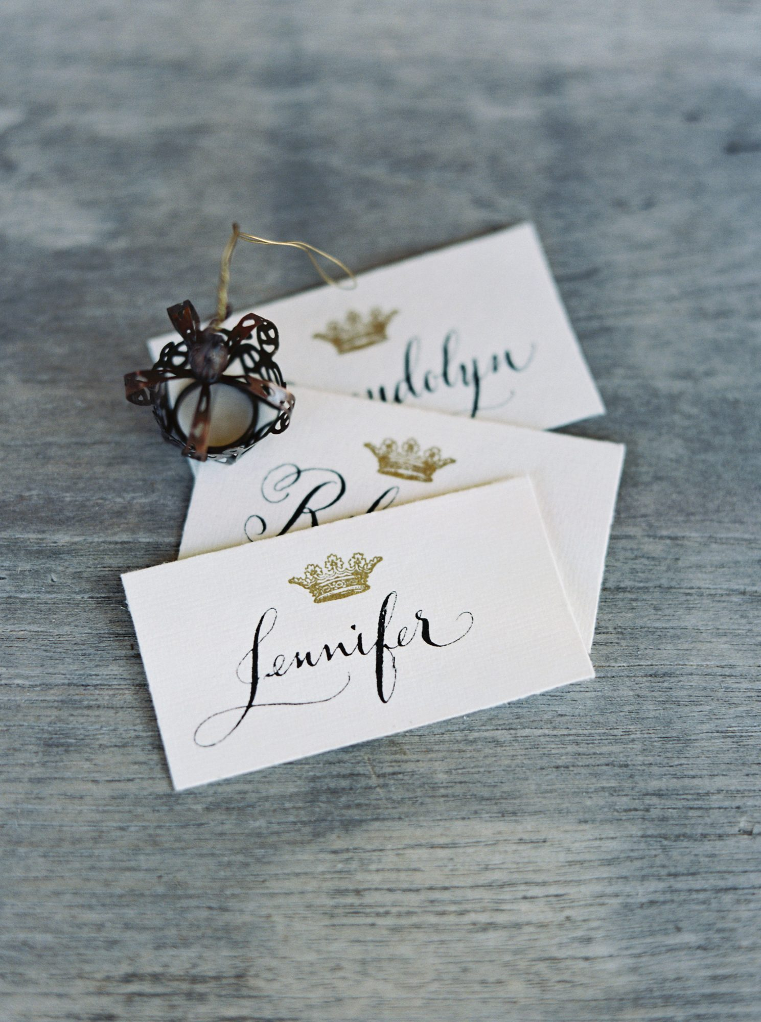 Royal Place Cards