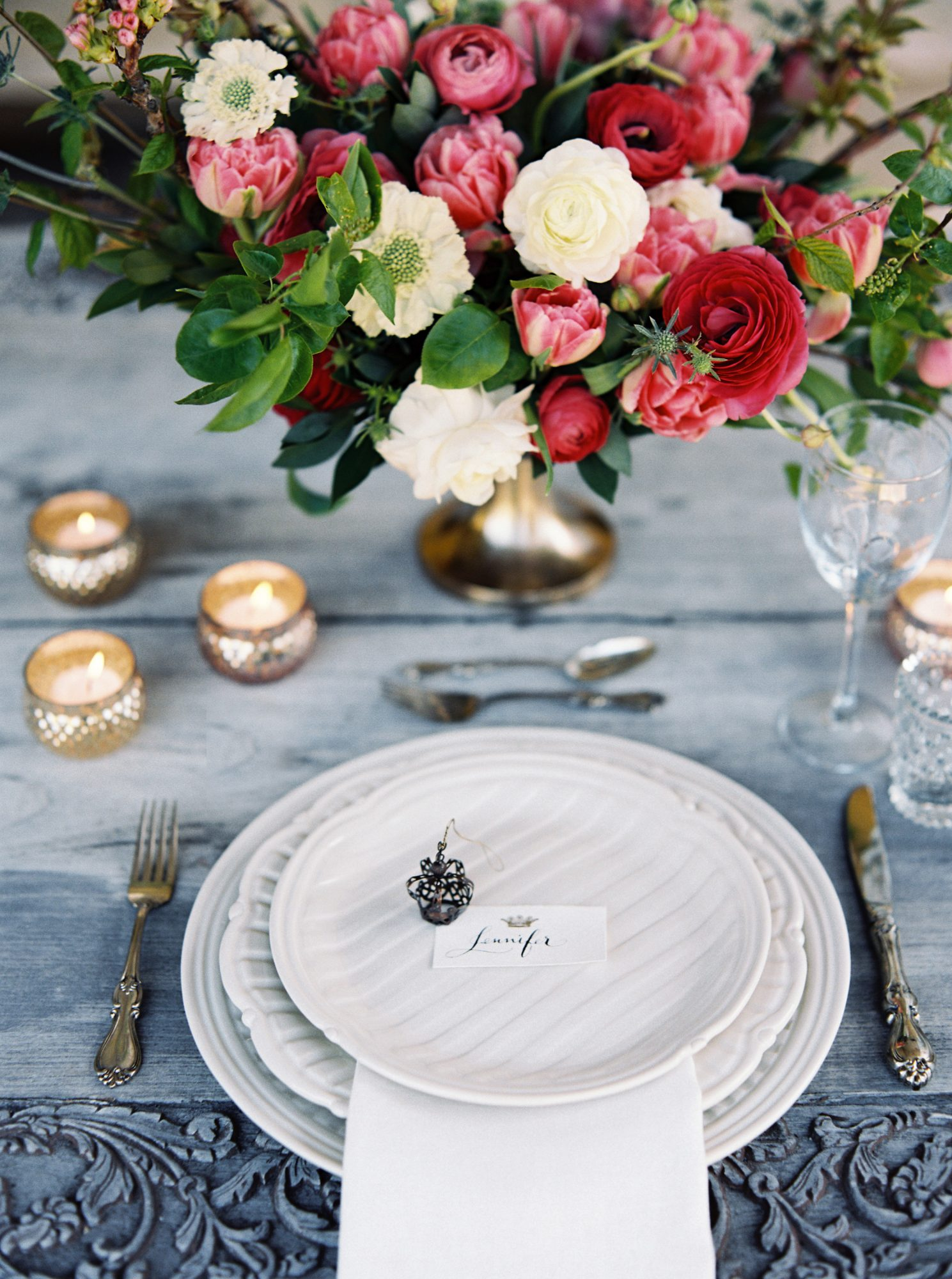 ciera preston wedding place setting
