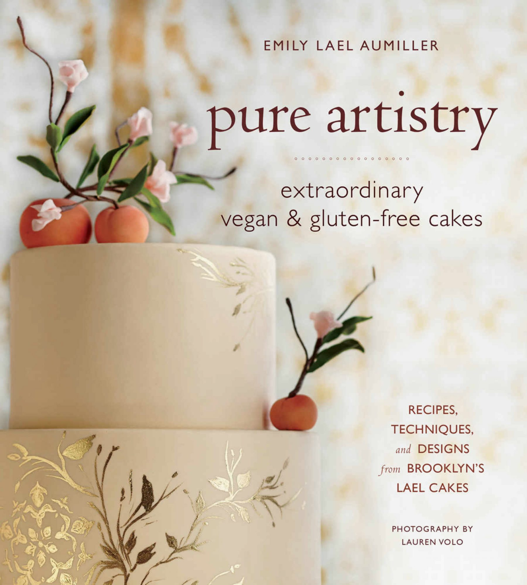Pure Artistry vegan and gluten free specialty cake cookbook