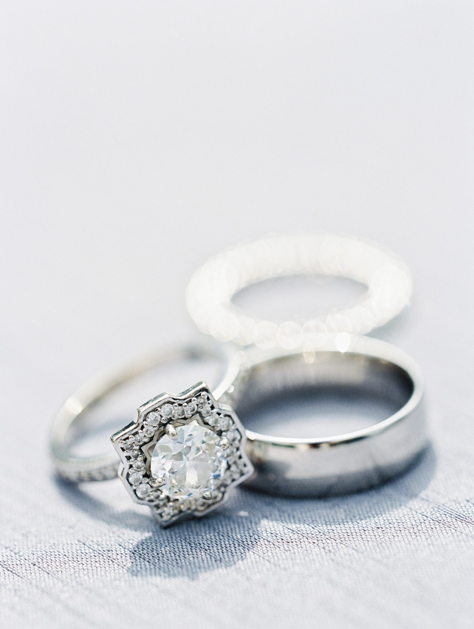 samantha michael wedding rings