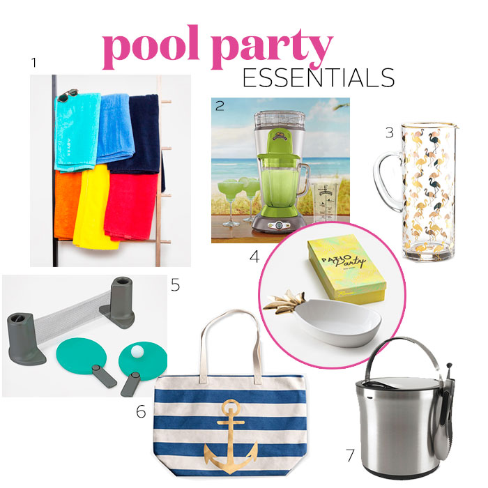 Pool party essentials to add to your wedding registry