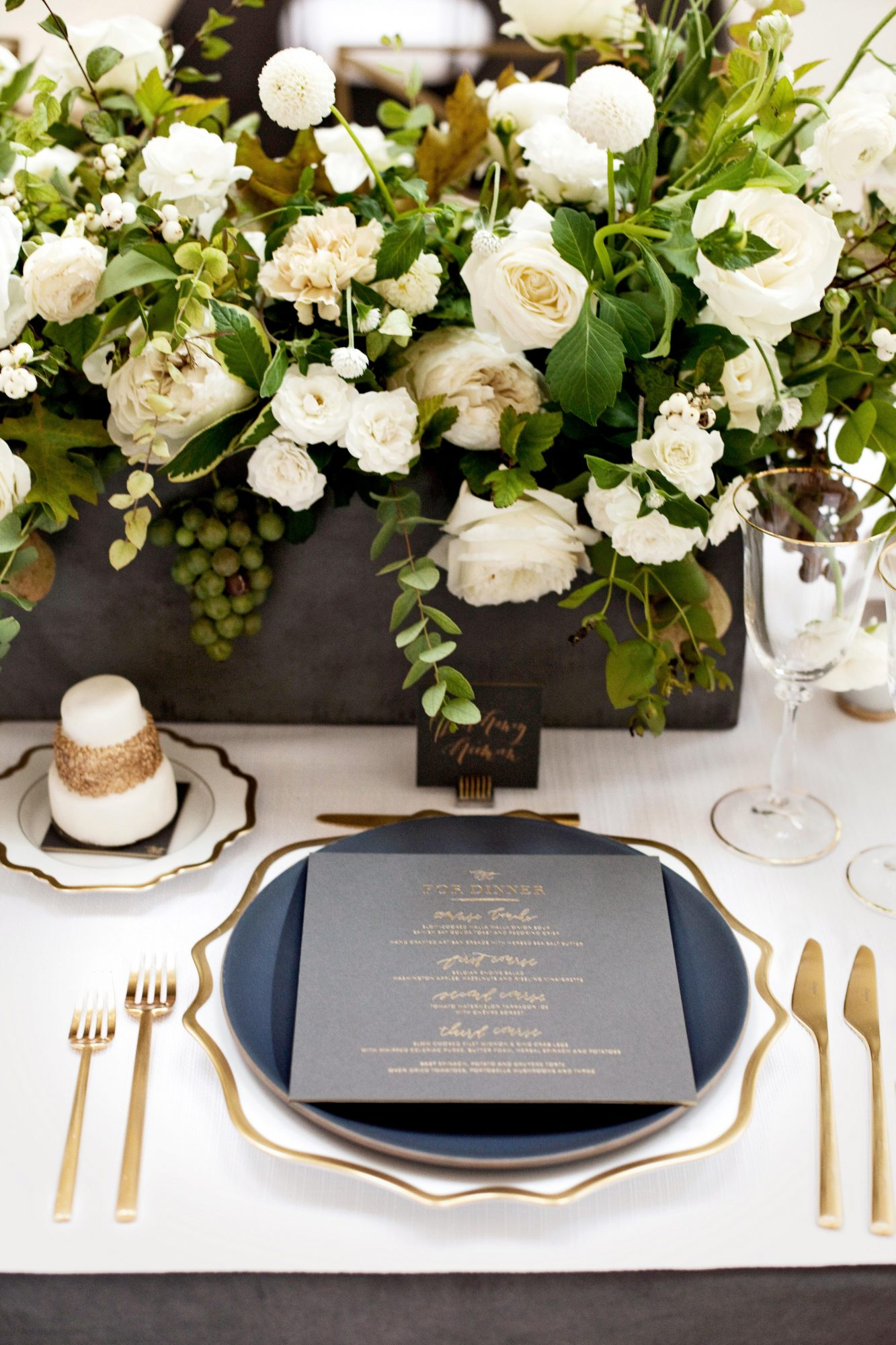 jess todd wedding seattle placesetting
