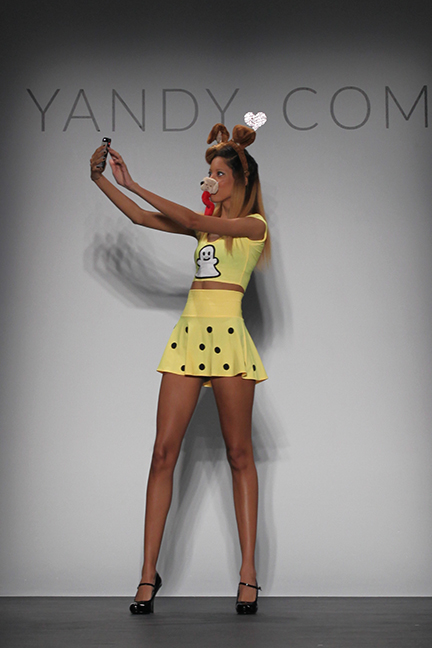 Yandy.com hosted the first-ever NYFW show for Halloween costumes.