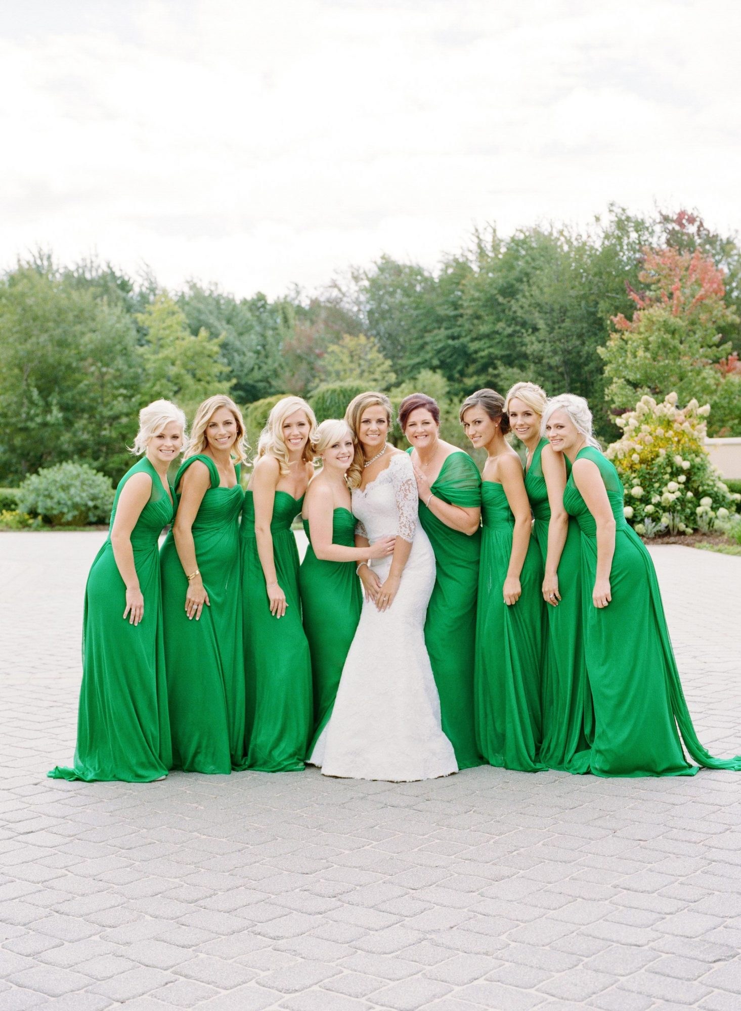 Gals in Green