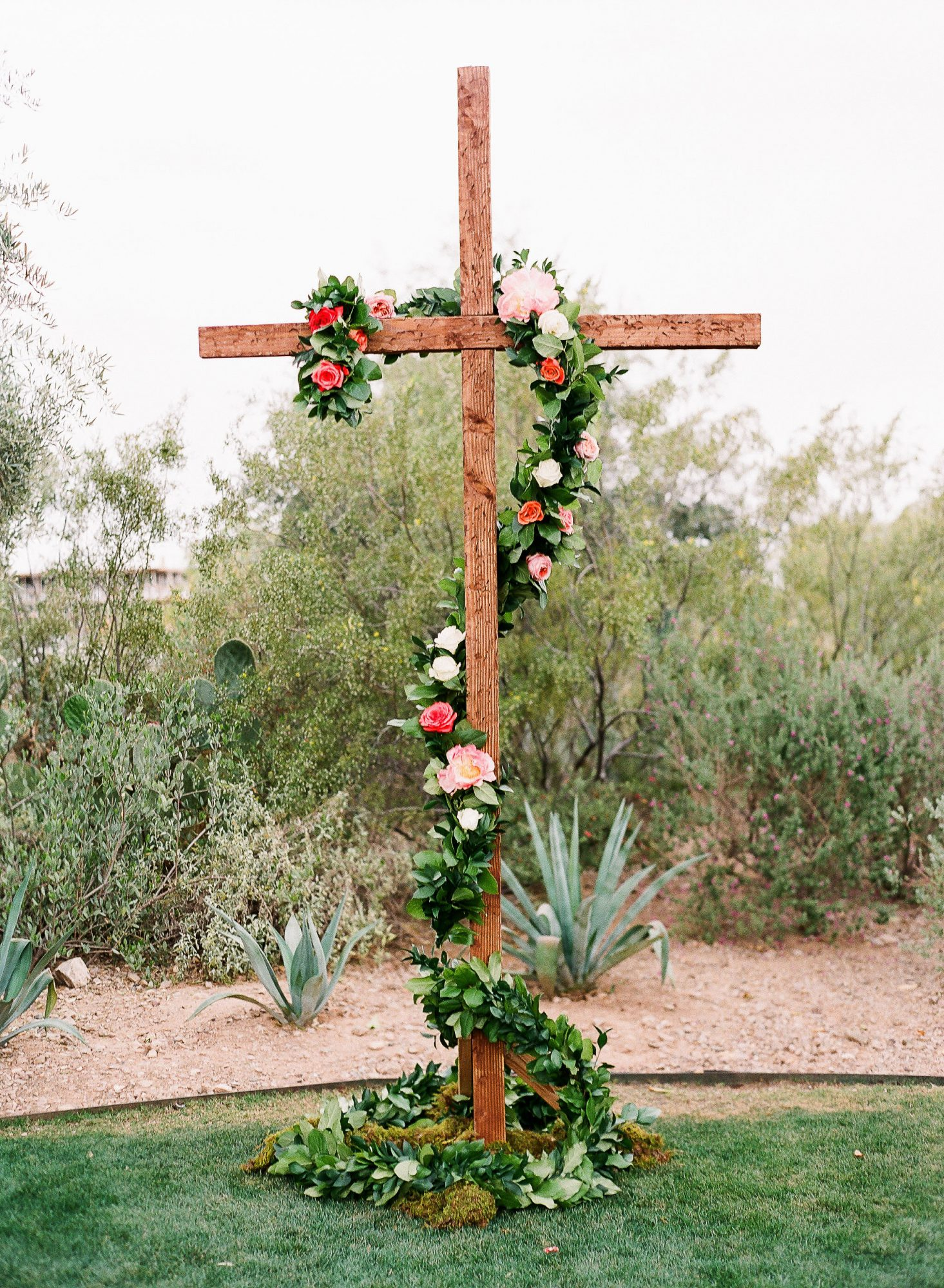 aubrey austin wedding cross