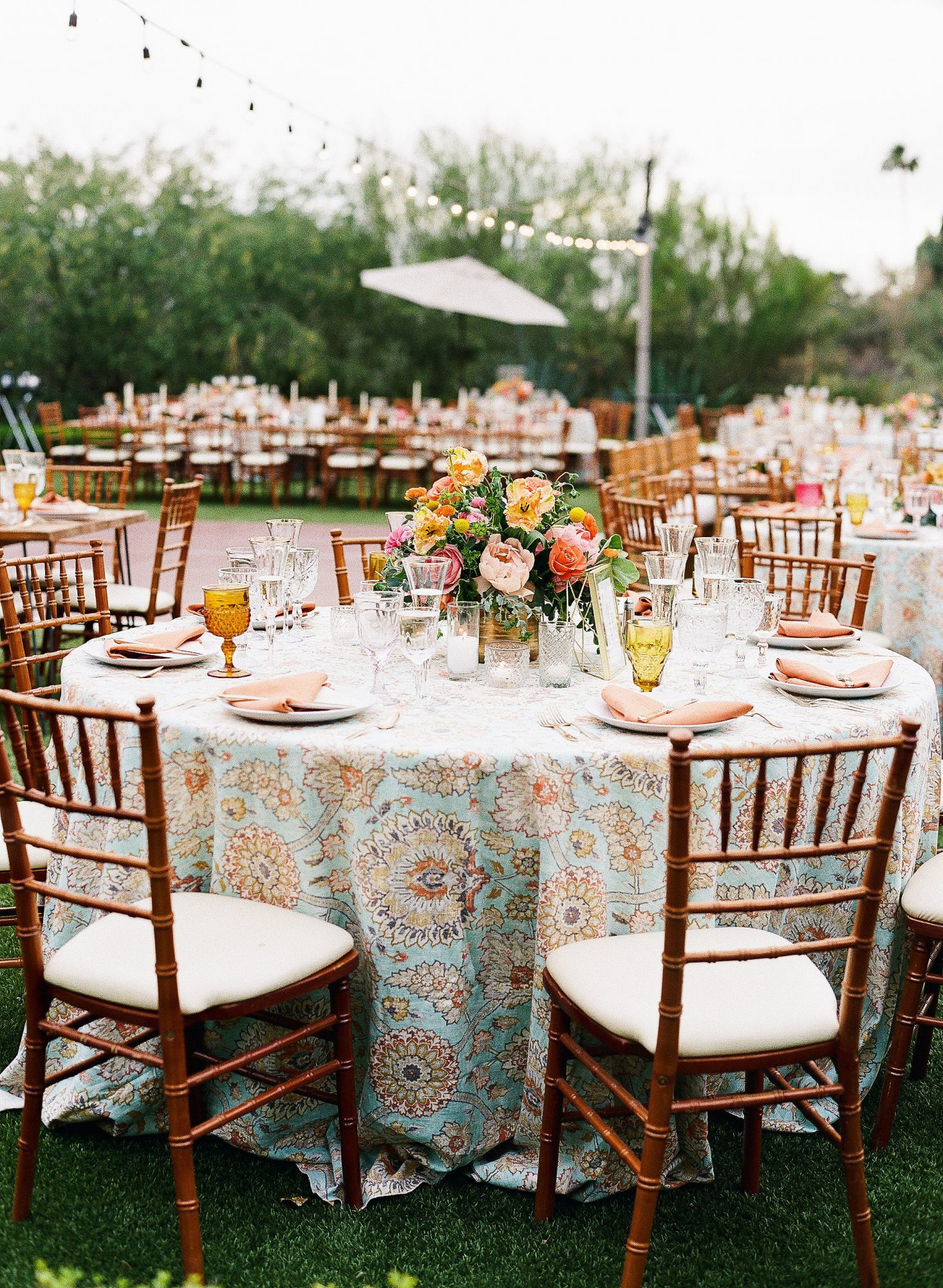 aubrey austin wedding table