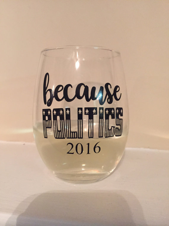 excuse to drink wine glass