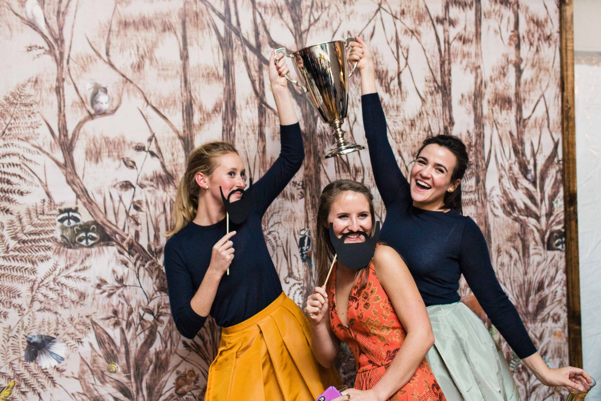 Guests photo booth