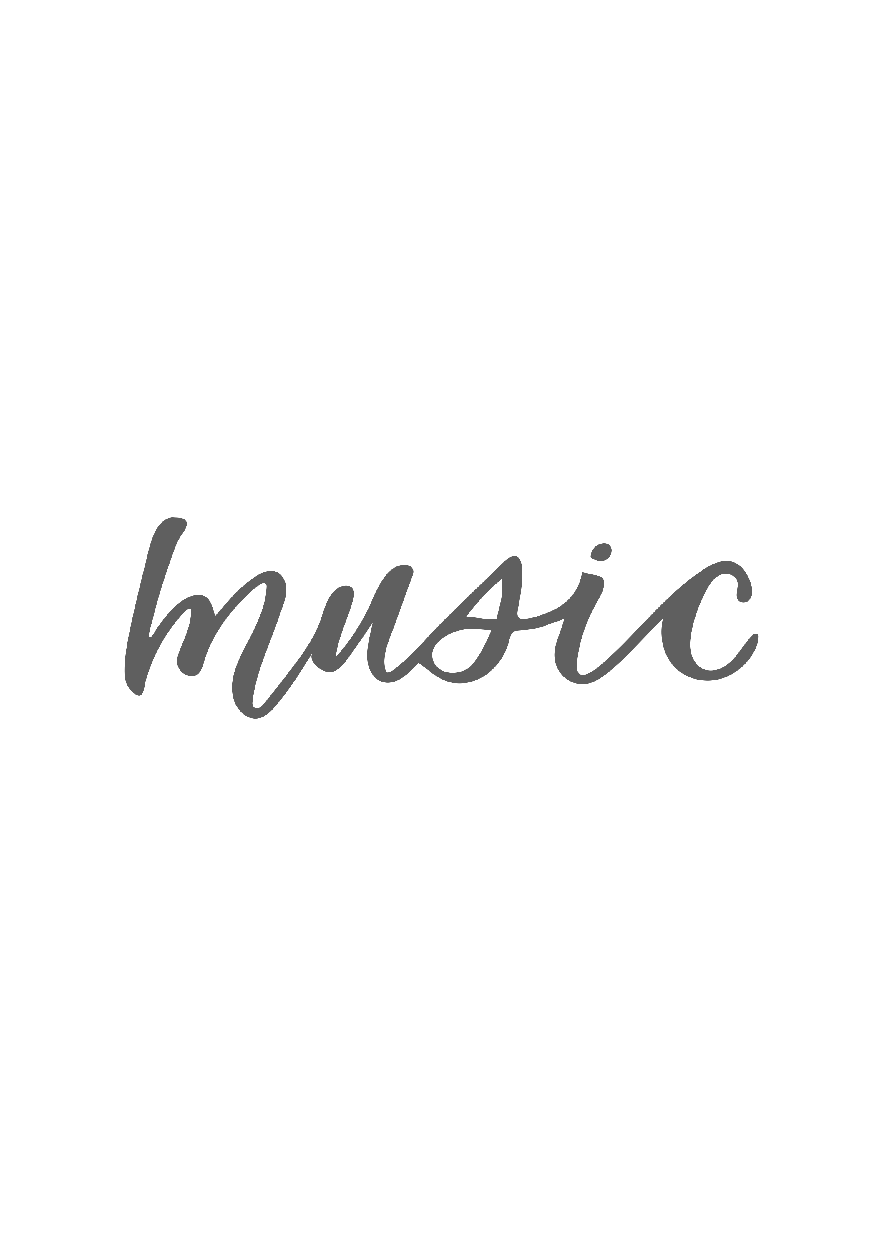"""music"" calligraphy"