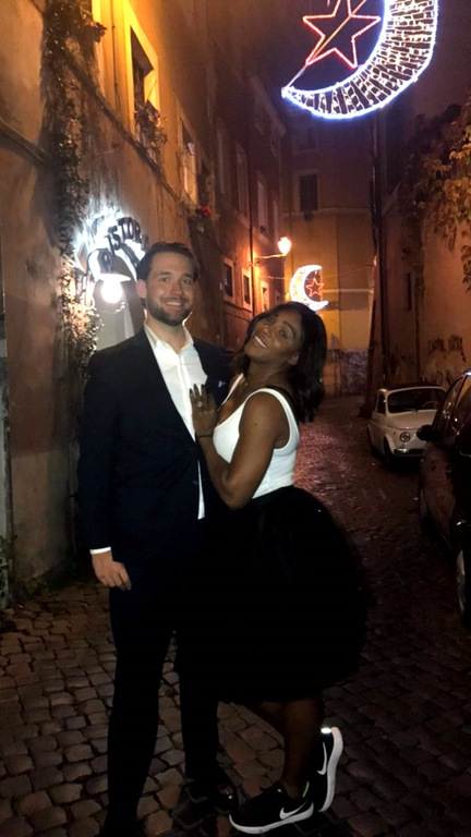Serena Williams and Fiancé Alexis Ohanian