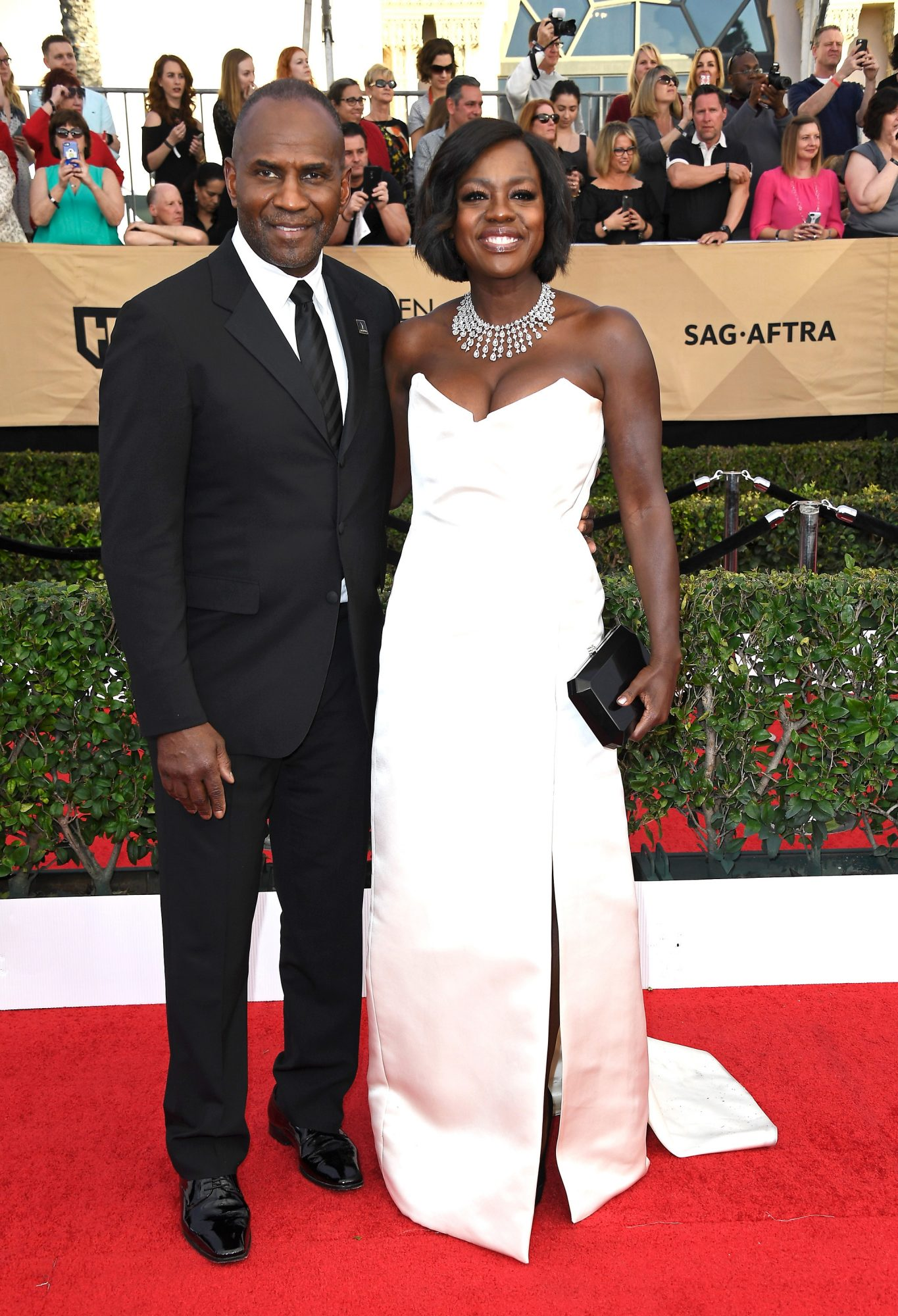 Viola Davis and Julius Tennon Sag Awards 2017