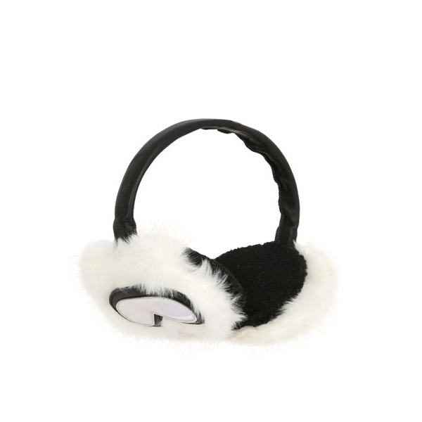 karl lagerfeld holiday faux fur ear muffs