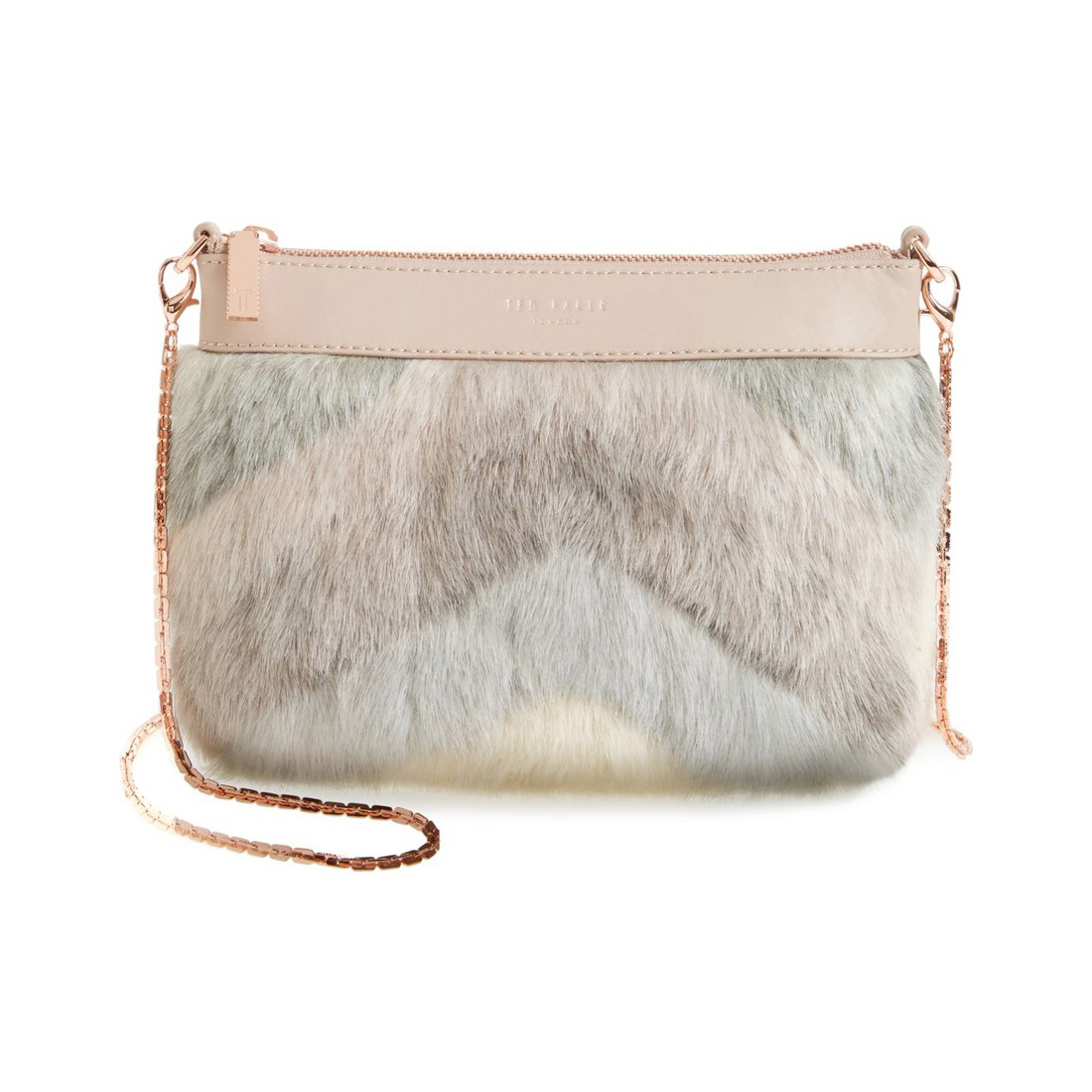 ted baker emmia faux fur crossbody