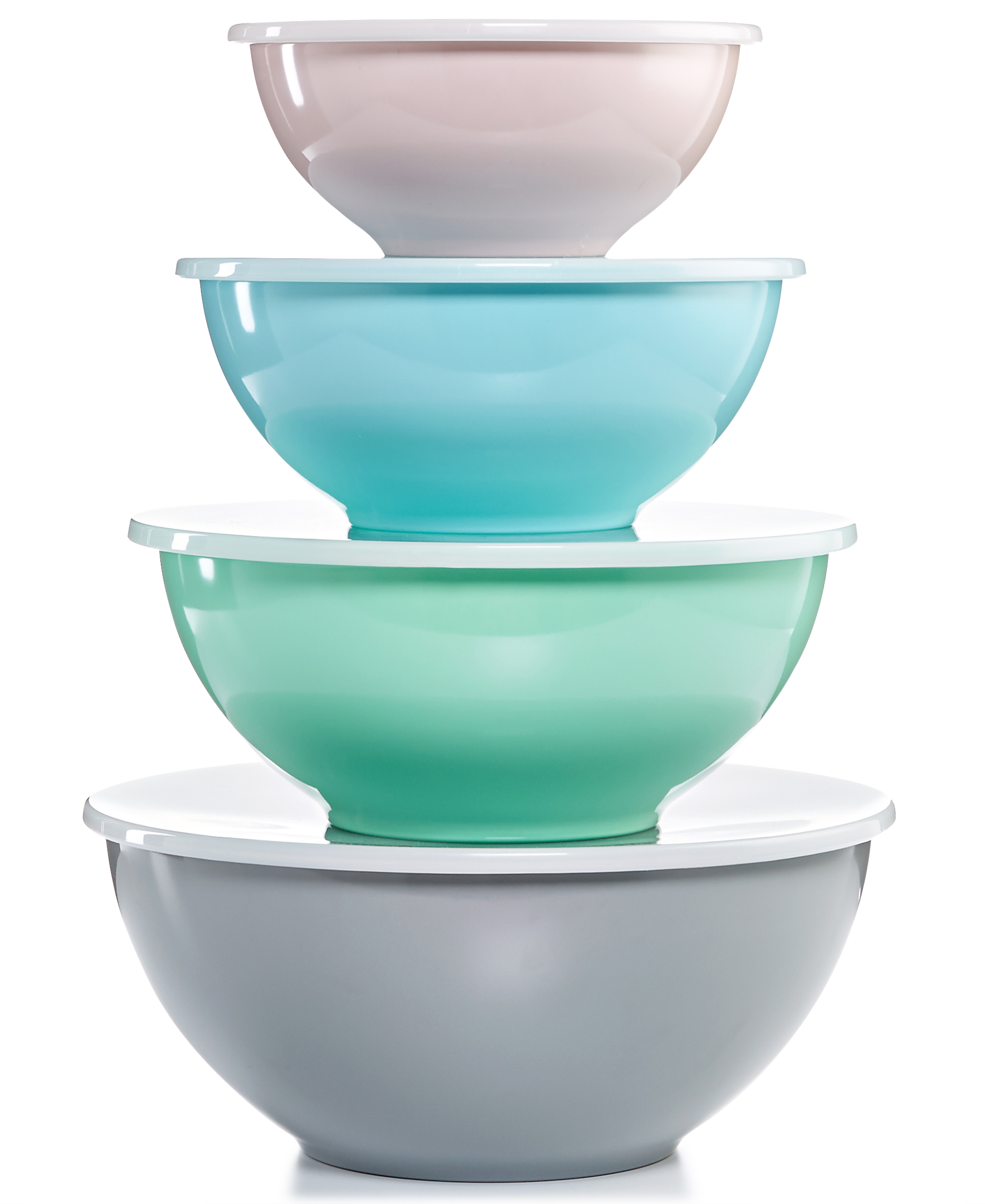 Nested Bowls with Lids