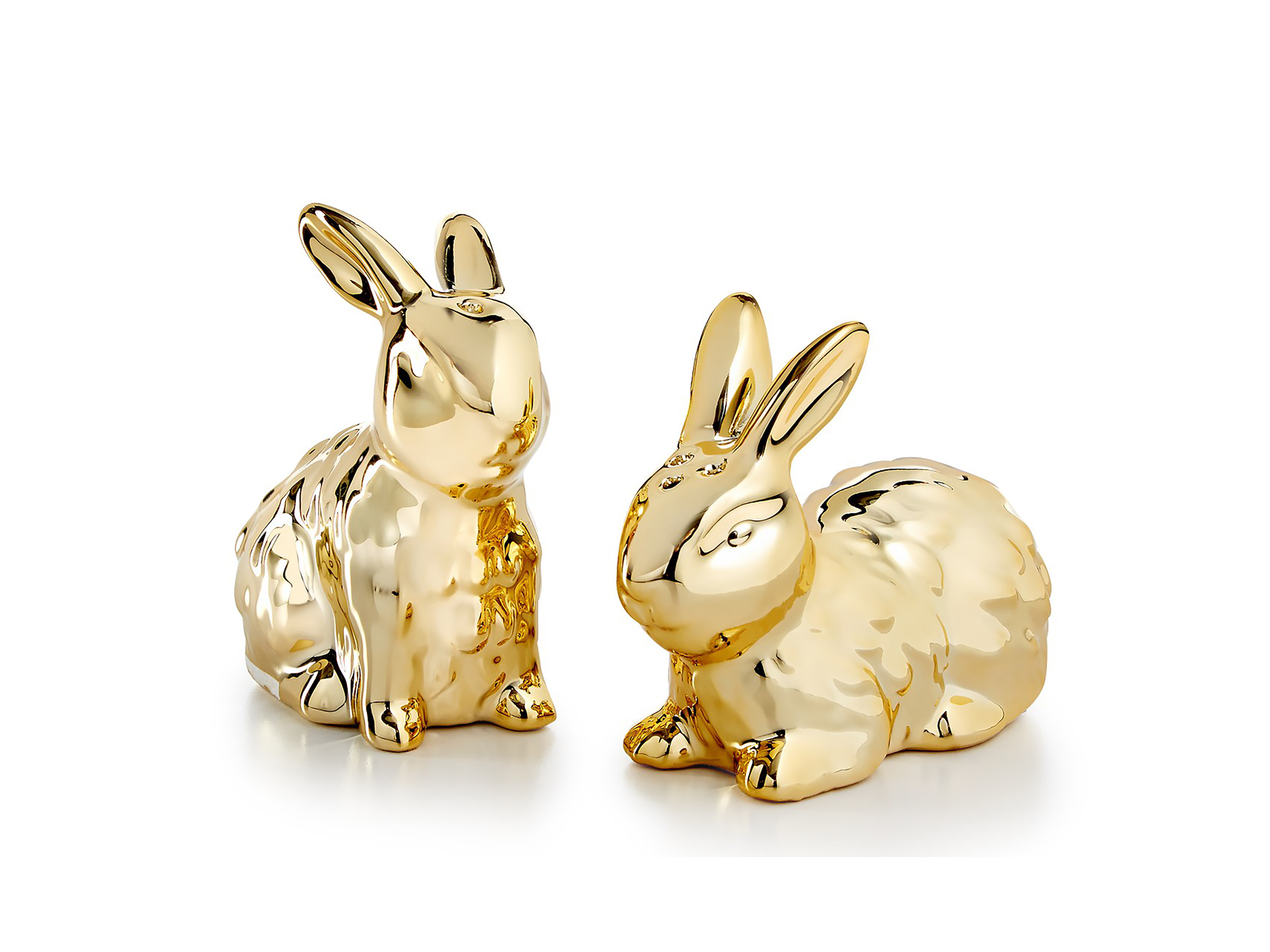 salt and pepper shakers bunny easter